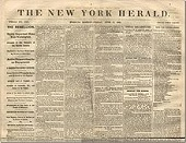 New York Herald, 1835