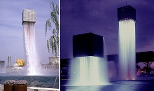 Nine Floating Fountains, Osaka, 1970