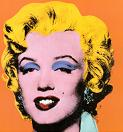'Orange Marilyn' by Andy Warhol (1928-87), 1964