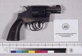 Oswald's .38 Smith & Wesson pistol