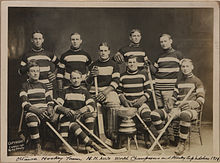 Ottawa Hockey Club, 1911