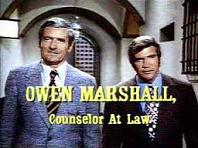 'Owen Marshall: Counselor at Law', 1971-4