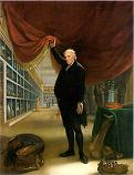 'The Artist in His Museum' by Charles Wilsson Peale (1741-1827)