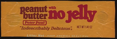 Peanut Butter with No Jelly Bar