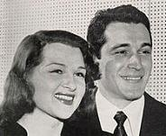 'Perry Como (1912-2001) and Jo Stafford (1917-2008)