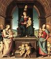'Family of the Madonna' by Il Perugino (1445-1523), 1500-2