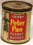 Peter Pan Peanut Butter, 1920