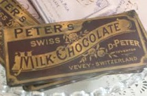 Peter's Swiss Milk Chocolate, 1875