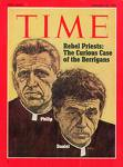 Rev. Philip Francis Berrigan (1923-2002) and Rev. Daniel Berrigan (1921-)