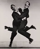 'Dean Martin and Jerry Lewis', by Philippe Halsman (1906-79)