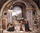 'The Annunciation' by Pinturiccio, 1501