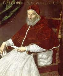 Pope Gregory XIII (1502-85)