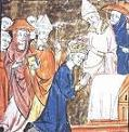 Pope Leo III (-816) Crowning Charlemagne, Dec. 25, 800