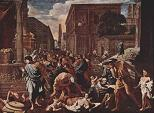 'The Plague at Ashdod' by Nicolas Poussin (1594-1665), 1630