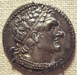 Ptolemy VI Philometor of Egypt (-185 to -145)
