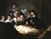 'The Anatomy Lesson of Dr. Nicolaas Tulp', by Rembrandt van Rijn (1606-69), 1632