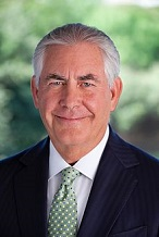 Rex Wayne Tillerson of the U.S. (1952-)