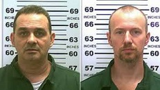 Richard Matt (1966-2015) and David Sweat (1980-)