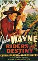 'Riders of Destiny', 1933