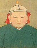 Emperor Rinchinbal (Yuan Nin Zong) of China (1326-32)