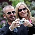 Ringo Starr (1940-) and Barbara Bach (1947-)
