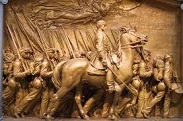 Robert Gould Shaw Memorial by Augustus Saint-Gaudens (1848-1907), 1897