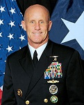 U.S. Adm. Robert Harward Jr. of the U.S.