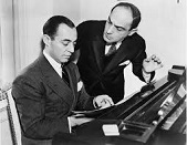 Richard Rodgers (1902-79) and Lorenz Hart (1895-1943)