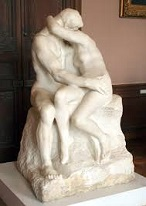 'The Kiss' by Auguste Rodin (1840-1917), 1882