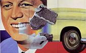 'President Elect' by James Rosenquist (1933-), 1960)