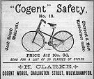 Rover Safety Bike, 1884