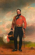 British Gen. Rowland Hill (1772-1842)