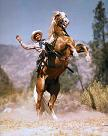 Roy Rogers (1911-98) and Trigger (1932-65)