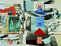 'Picture Builder' by David Salle (1952-), 1993