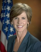 Sally Yates of the U.S. (1960-)