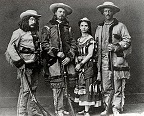 Cast of 'Scouts of the Prairie', 1872