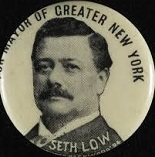 Seth Low of the U.S. (1850-1916)