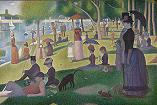 'Sunday Afternoon on the Island of La Grande Jatte' by Georges Seurat (1859-91), 1884-6
