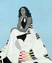 'Official Portrait of First Lady Michelle Obama' by Amy Sherald (1973-), 2018
