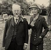 Sidney Webb (1859-1947) and Beatrice Webb (1858-1943)