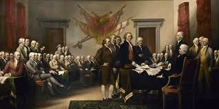 Signing the Declaration of Independence, 1776