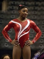 Simone Biles of the U.S. (1997-)