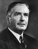 Sir Anthony Eden of Britain (1897-1977)