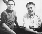 Sis Cunningham (1909-2004) and Gordon Friesen (1909-96)
