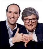 Gene Siskel (1946-99) and Roger Ebert (1942-2013)