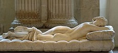 'The Sleeping Hermaphroditus' by Polycles