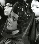 'Coretta Scott King at MLK Jr.'s Funeral', Moneta Sleet Jr. (1926-96)