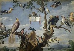 'Concert of Birds' by Frans Snyders (1579-1657), 1629-30