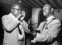 Sonny Terry (1911-86) and Brownie McGhee (1915-96)
