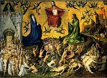 'The Last Judgment', by Stefan Lochner (1409-52), 1435